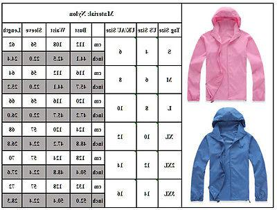Women Jogger Sports Hiking Waterproof Windproof Jacket