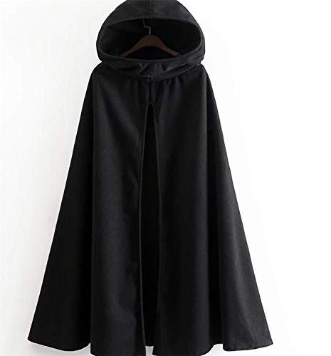 Women's Front Slits Cold Hooded Coat As Photo 3 M