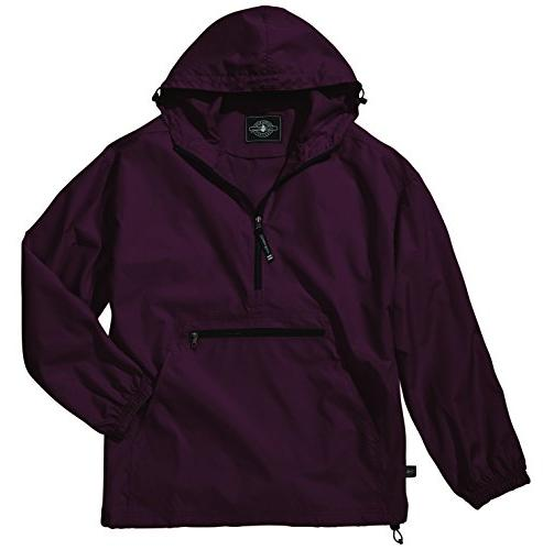 Women's Ultra Light Pack-N-Go Pullover - Maroon, X-Large