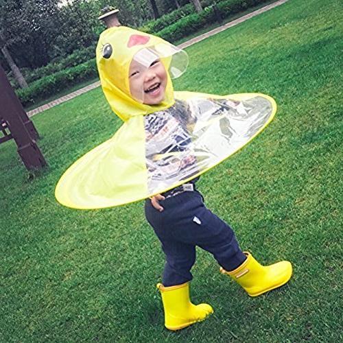 Xindda Kids Magical Umbrella Novelty Poncho Cloak
