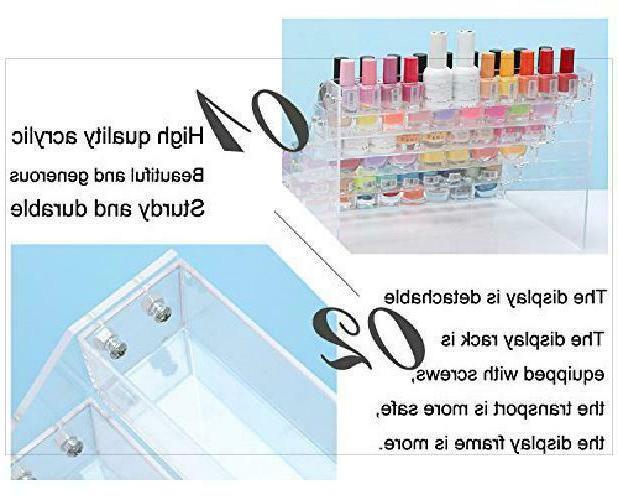 Sooyee 6 Nail Polish Display Stand Table
