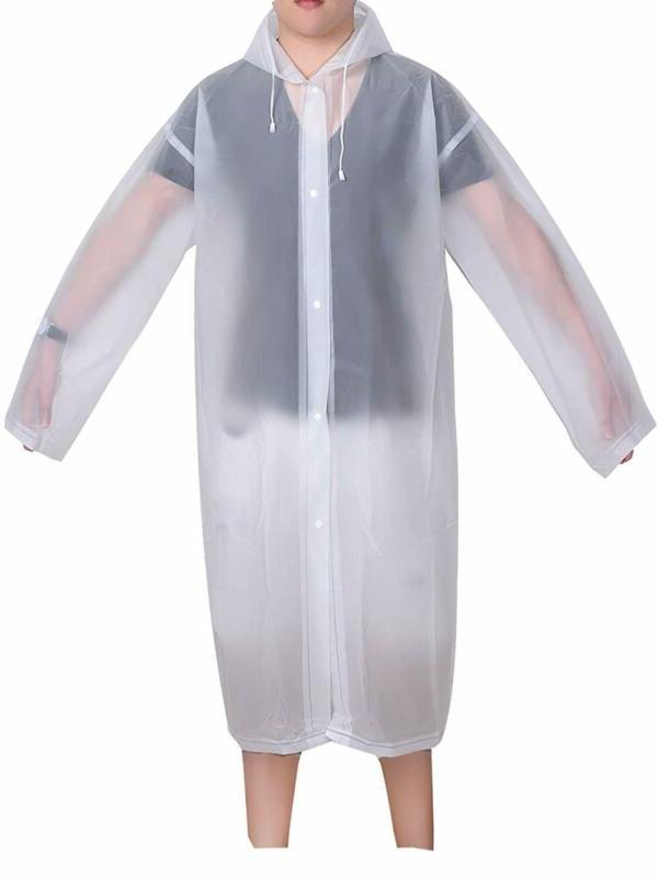 adult portable raincoat rain poncho with hoods