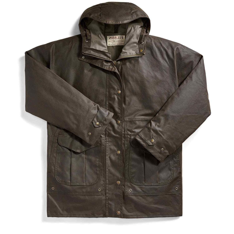 all season rain coat orca gray men