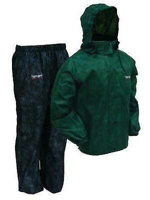 Frogg Rain Jacket/Black Pants X-Large