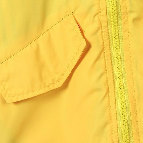 Raincoat Jacket Hooded Zip Up Coat Outwear Baby Fall Clothes