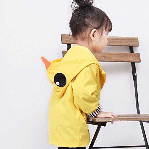 Birdfly Raincoat Hooded Outwear Baby Clothes