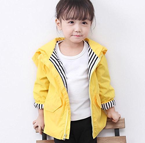 Birdfly Unisex Animal Raincoat Cute Hooded Outwear Clothes