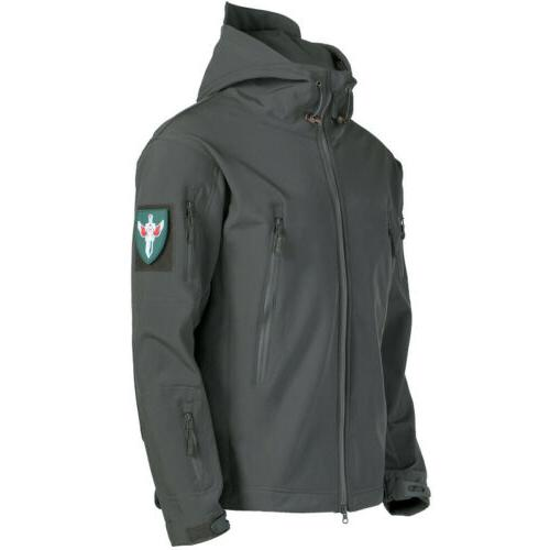 Tactical Rain Waterproof Windbreaker