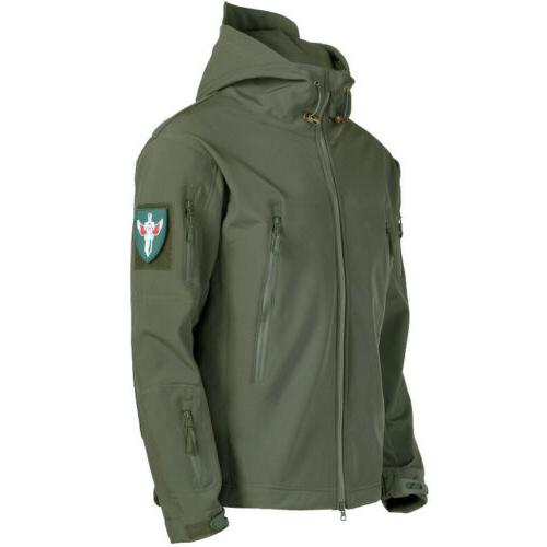Tactical Camping Rain Waterproof Windbreaker