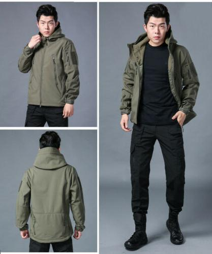 Tactical Jacket Men's Rain Waterproof