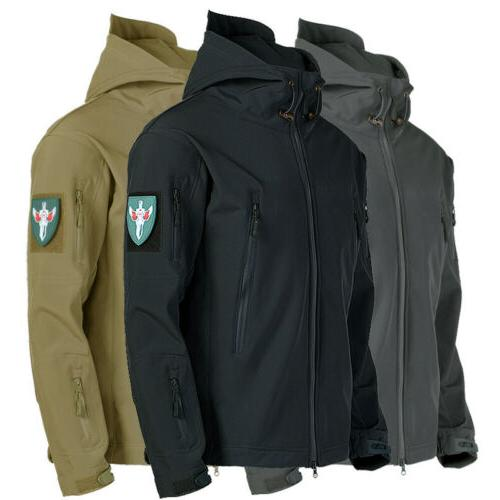 tactical jacket camping men s rain coat