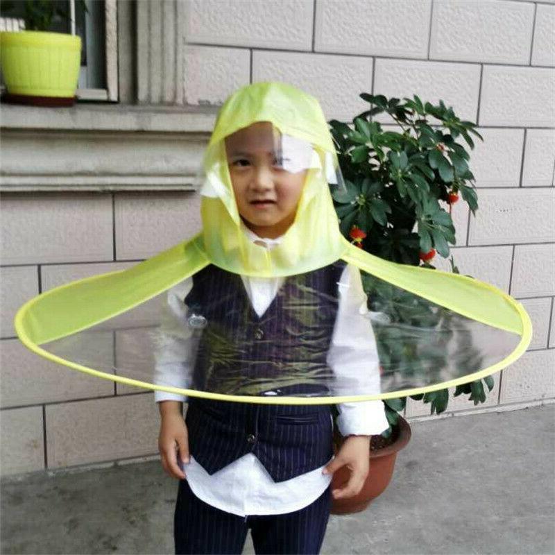 Baby Boys Raincoat Funny Christmas Gift UFO Cap