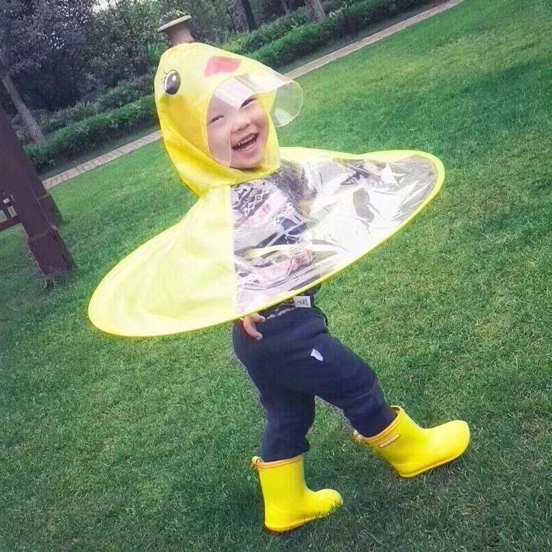 Baby Children Duck Umbrella Coat Funny Christmas Gift