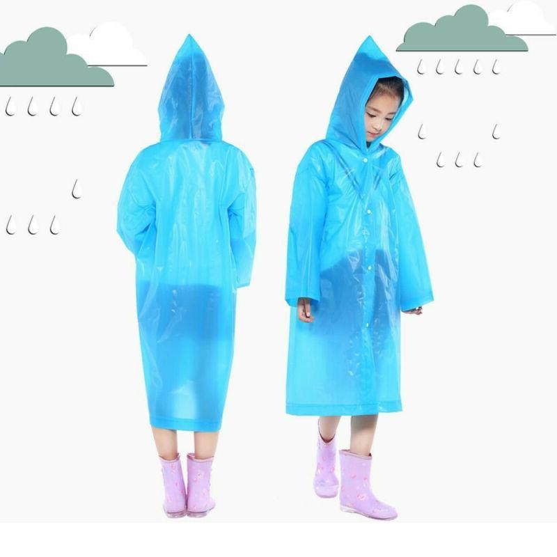 Baby Hooded Poncho Raincoat WP