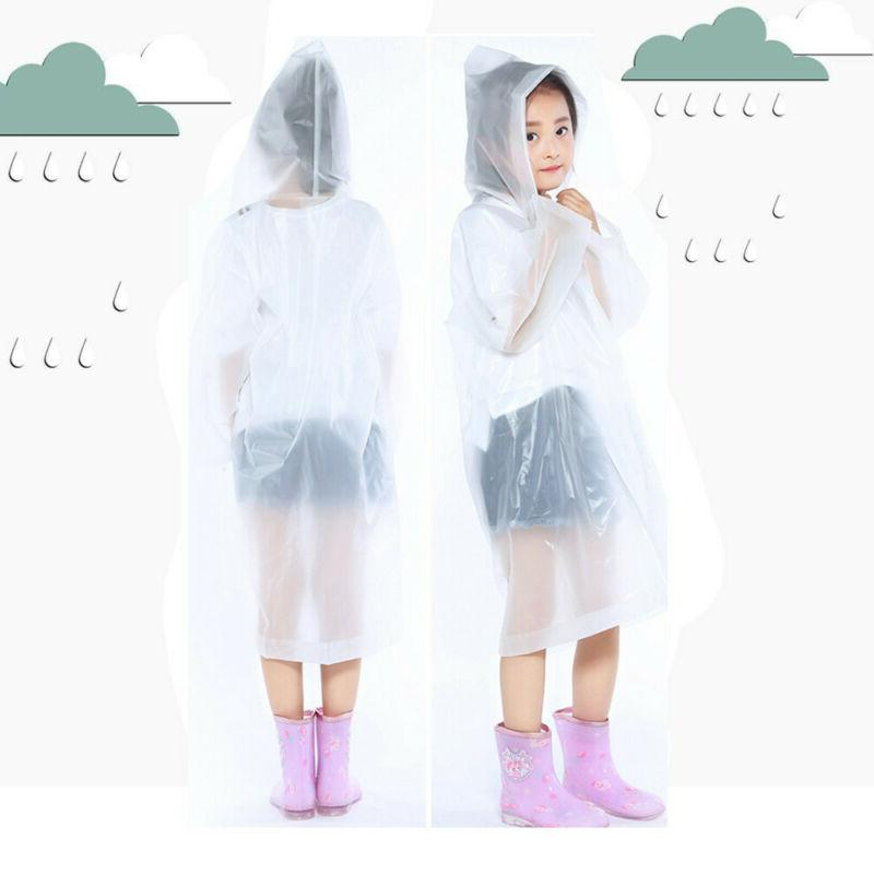 Baby Waterproof Hooded Rain Poncho Raincoat WP