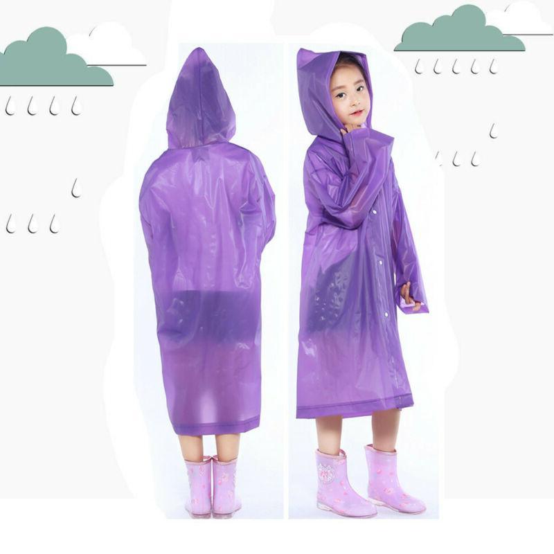 Baby Rainwear Waterproof Hooded Coat Poncho WP