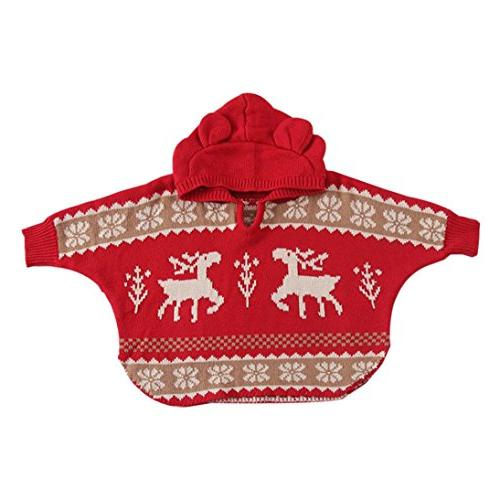 baby girls boys knitted hooded