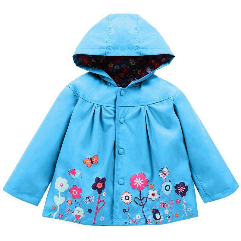 Baby Girls Raincoat Rain Y