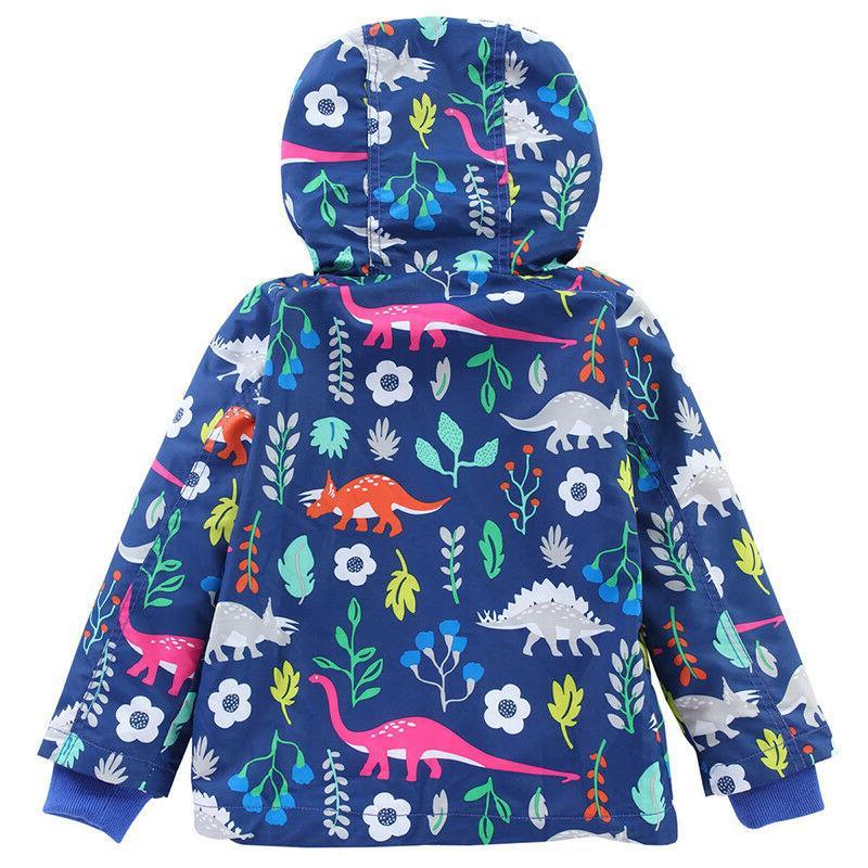 Baby Kids Raincoat Coat Jacket Wear Windproof Outerwear Y