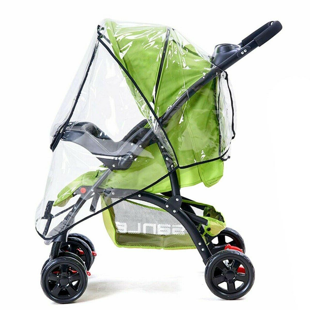 baby stroller rain cover wind universal rain