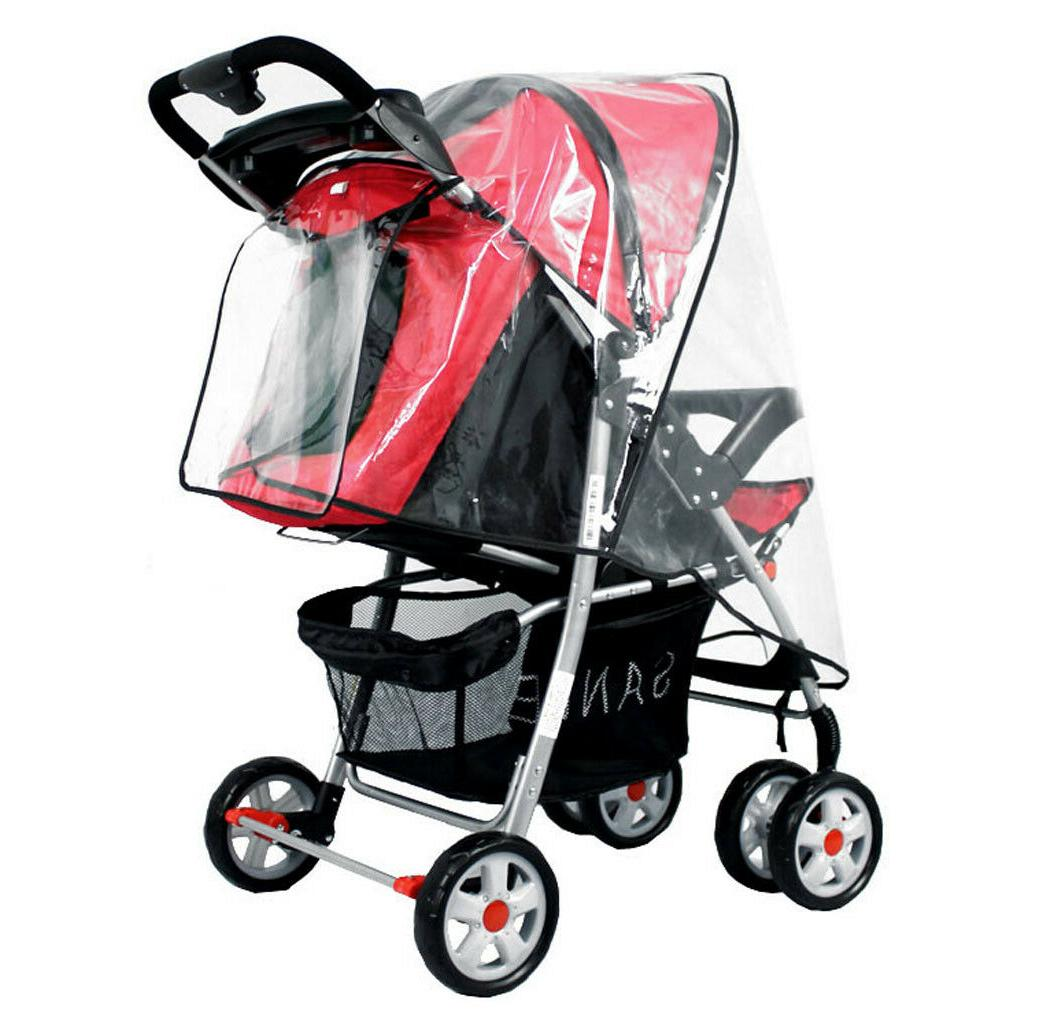 Baby Stroller Rain Wind Rain Raincoat for