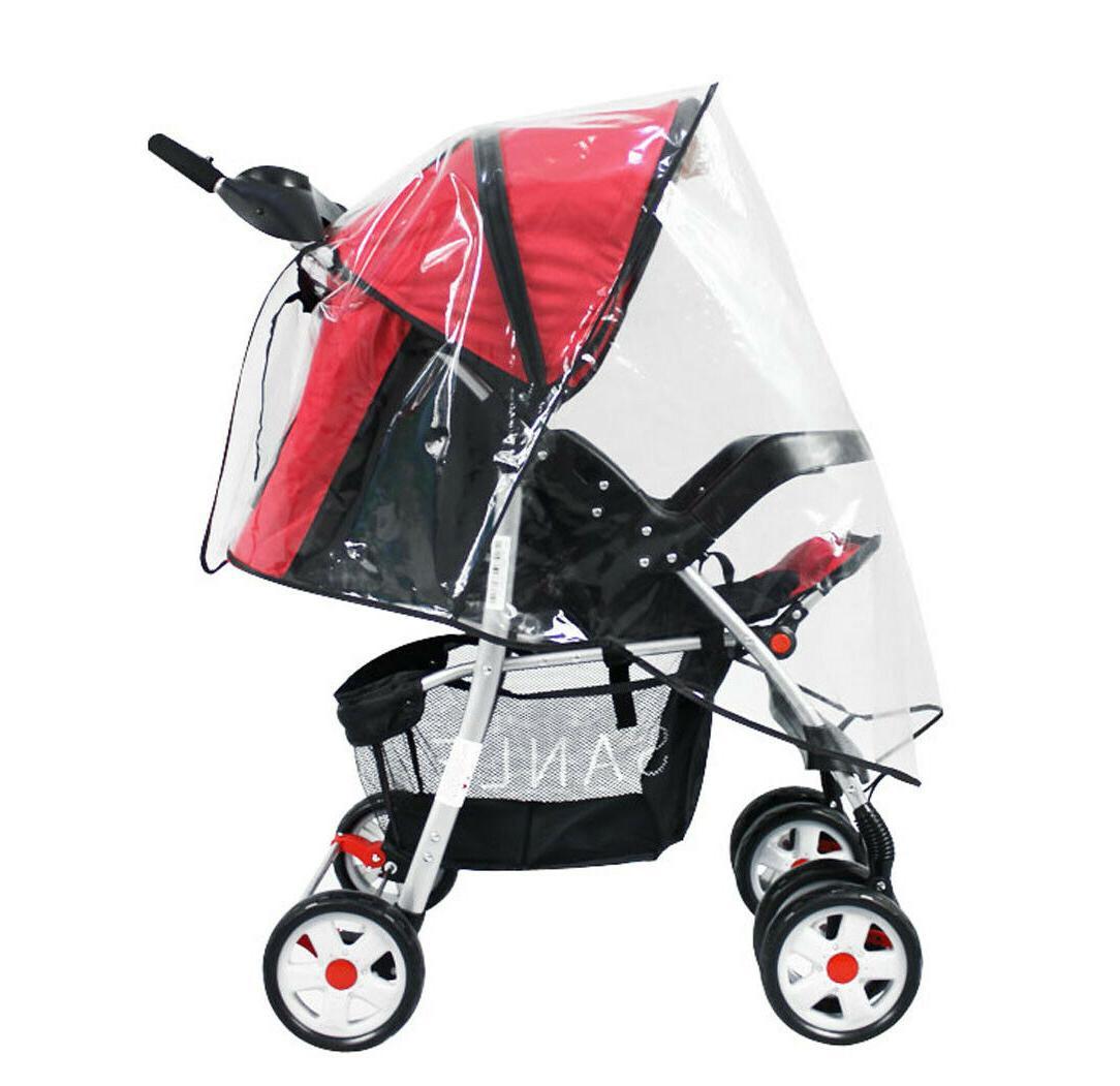 Baby Wind Universal Raincoat Pram Pushchair