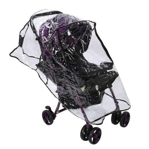 Baby Rain Cover Wind Universal Rain Canopy Raincoat Pushchair