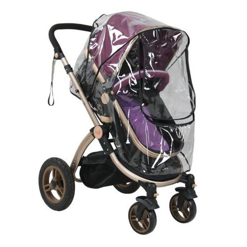 Baby Stroller Rain Wind Rain Raincoat for Pram