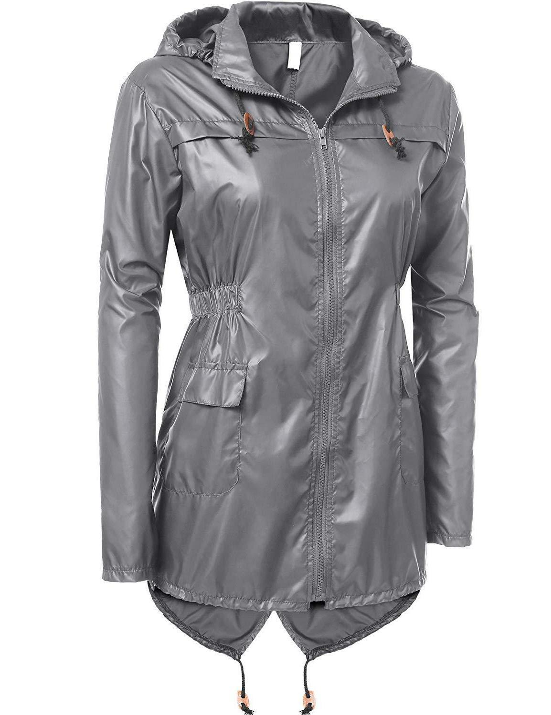 Beyove Outdoor Coat Windproof Hoodies Rain
