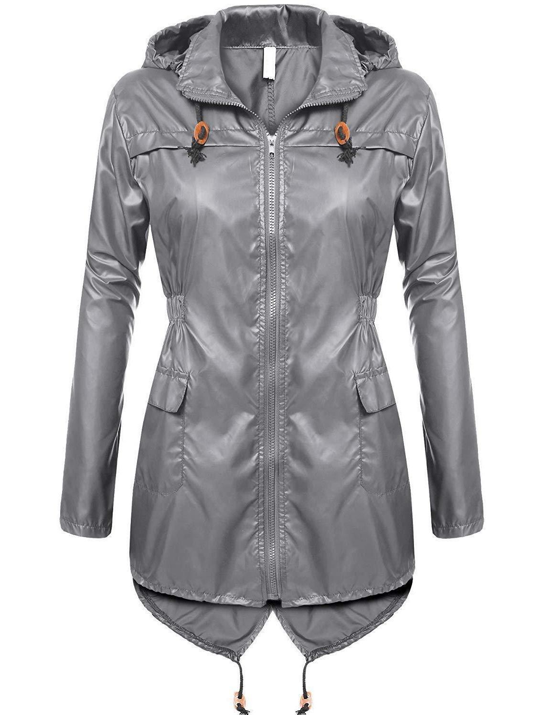 beyove women s lightweight packable outdoor coat