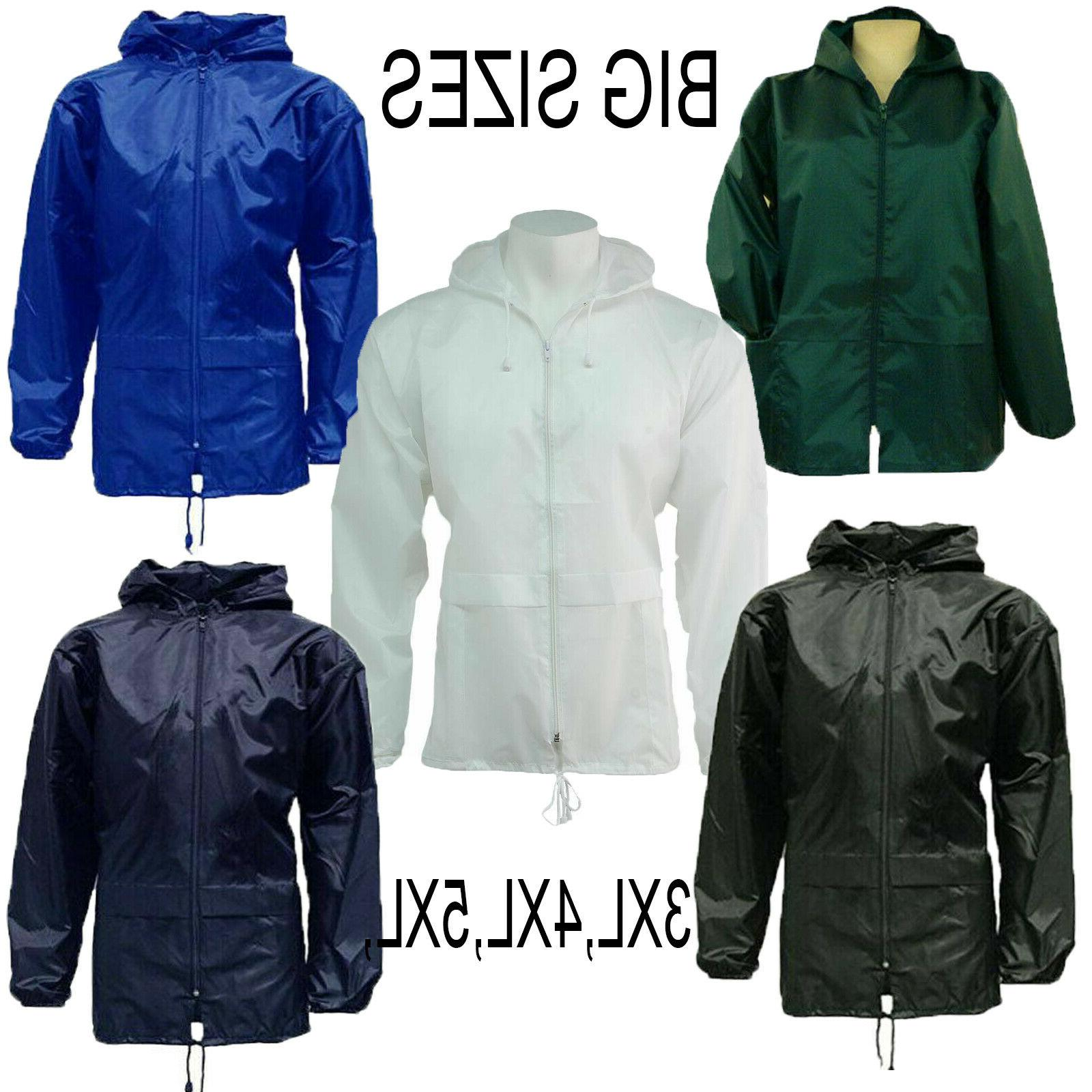 big sizes unisex rain coat jacket kagool