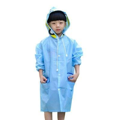 Boys Girl Raincoat Rain Cape
