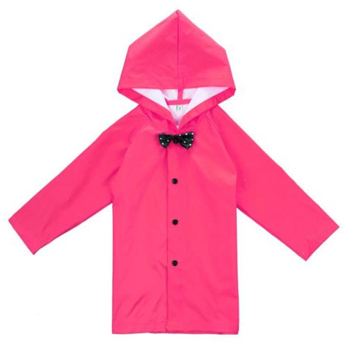 Rose Children Boys Rain Rainwear Jacket Poncho