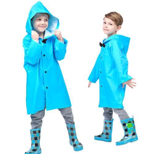 US Blue Kid Rain Coat Rainwear