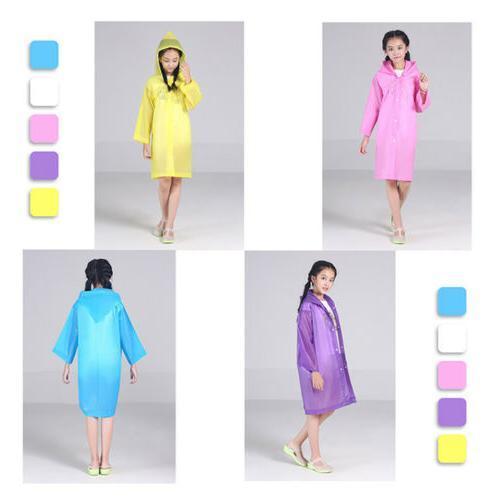 Baby Kids Dinosaur Coat Poncho Rainwear Waterproof Jacket LD