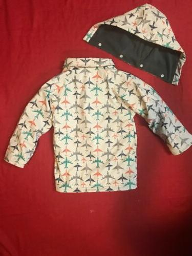 Minoti Boys Coat Jacket Fleece Mac Years NWT