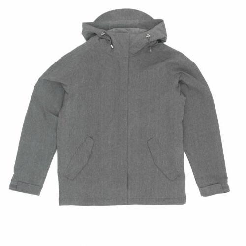 canopy jacket grey melange
