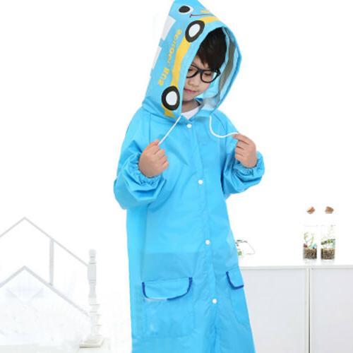 Cartoon Style Kids For Children Rain Coat