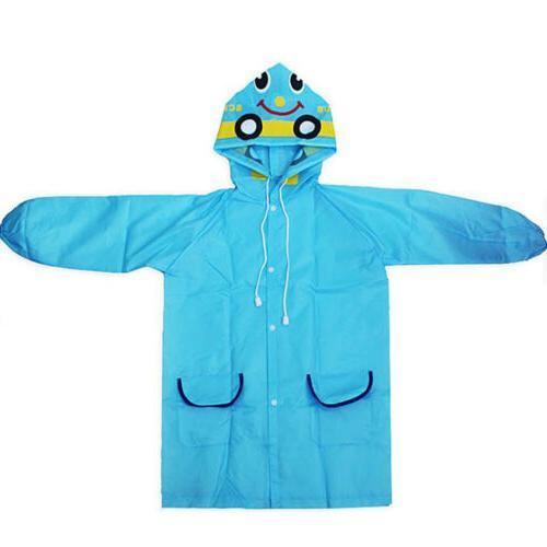Cartoon Animal Style Kids Raincoat For Rain
