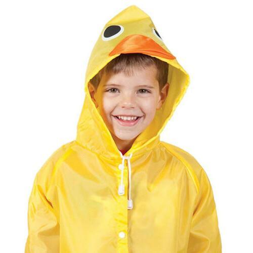 Cartoon Animal Style Kids Rain