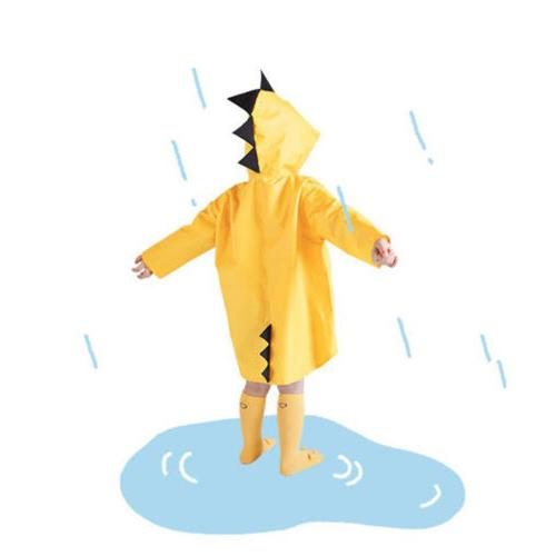 children cartoon rain coat kids rainwear cute