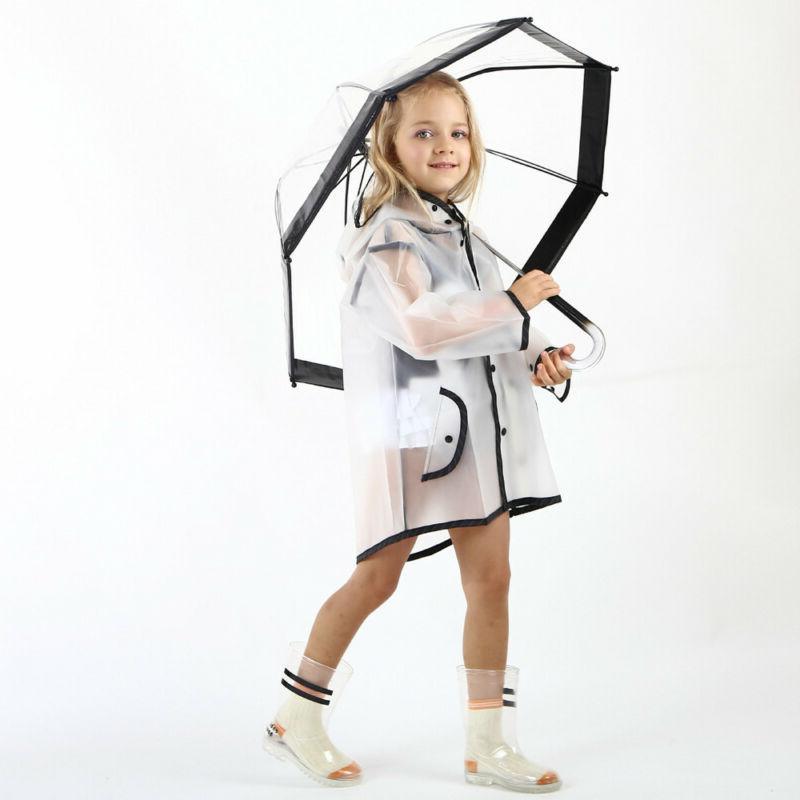 Children Raincoat Jacket Coat