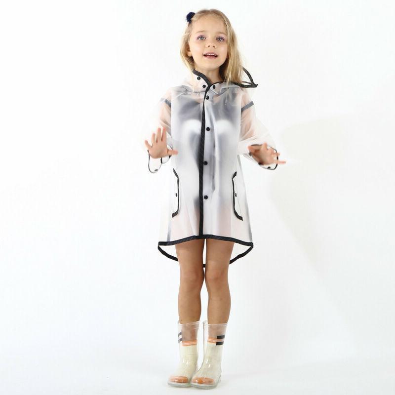 Children Kids Boy Raincoat Waterproof Coat Top