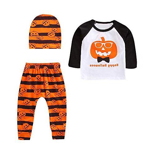 clearance halloween toddler pumpkin tops