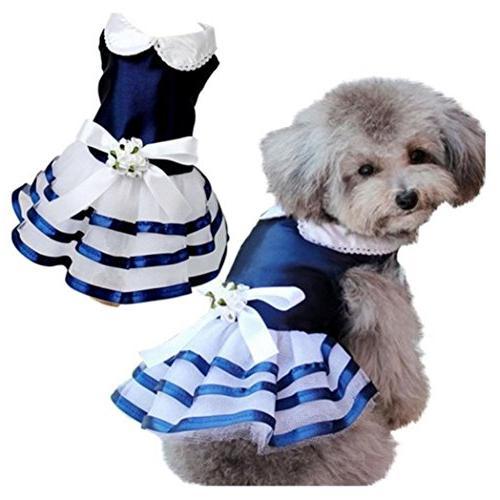 clearance pet wedding dress