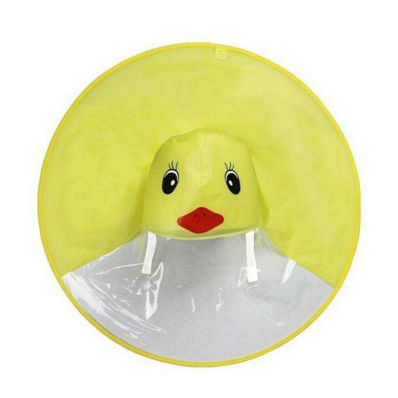 Cute UFO Child Raincoat duck US
