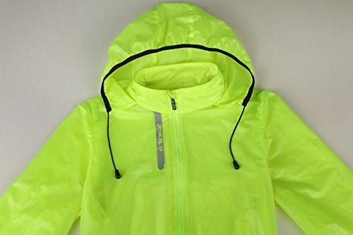 Coat Jacket Hooded Green