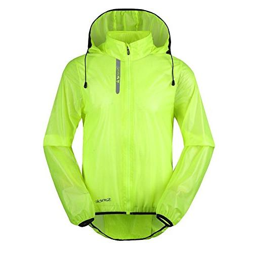 cycling rain coat jersey bicycle