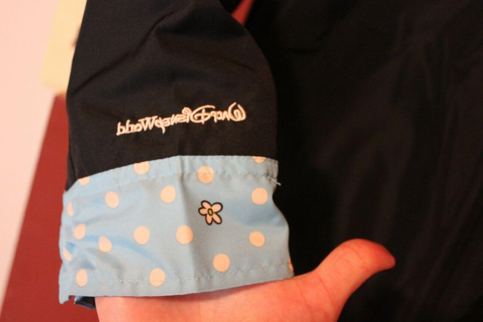 DisneyWorld Minnie Mouse Rain Jacket New - Size