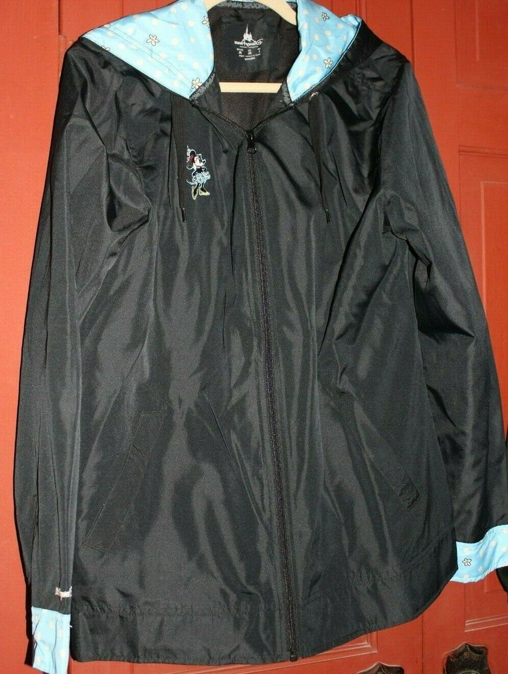 disneyworld minnie mouse rain jacket coat new